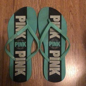 PINK flip flops